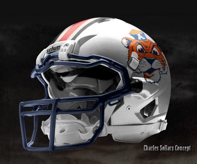 dfe1179787f A Few Very Eccentric Auburn Helmet Concepts