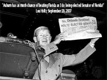 Holtz Elected Senator!!!