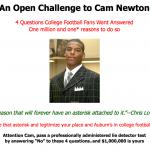 Would it Matter if Cam Newton Took a Lie Detector Test?
