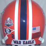 Oh Look, An Orange Auburn Helmet