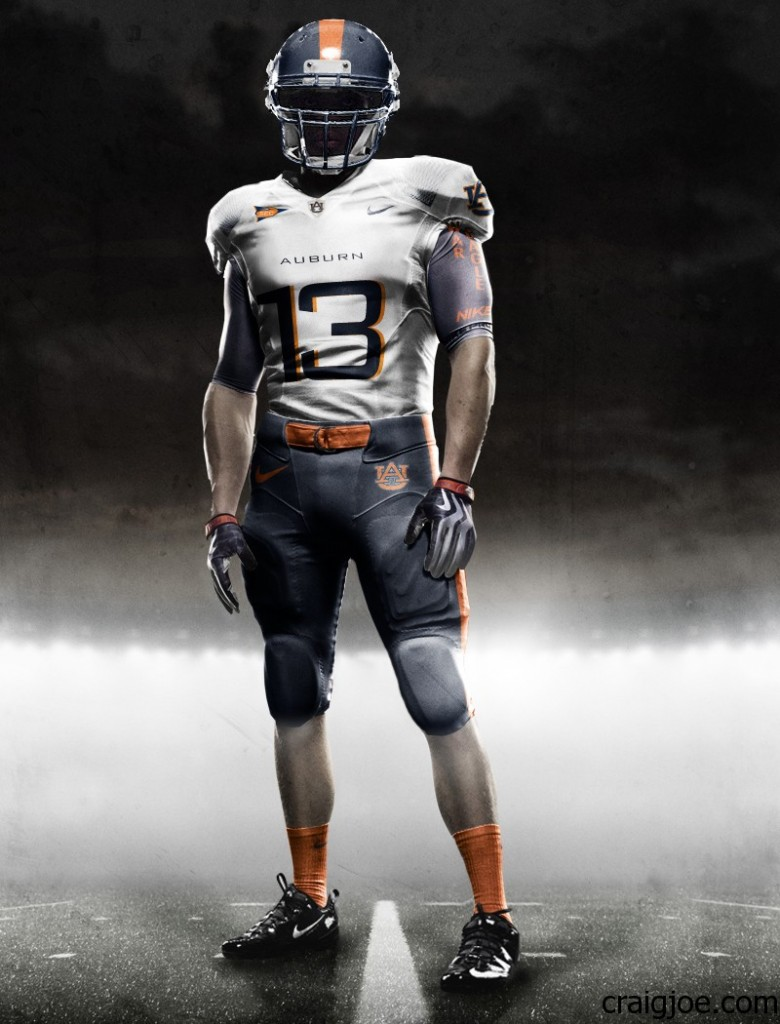what if auburn had nike pro combat uniforms. Black Bedroom Furniture Sets. Home Design Ideas