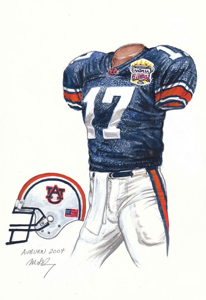 A Visual History of the Auburn Football Uniform 79fcb9c1a