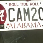 Alabama License Plates Inadvertently Honor Cam