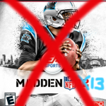 Cam Newton Misses Out on Cover of Madden 13
