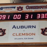 "Auburn's ""Countdown to Clemson"" is a Little Ahead"