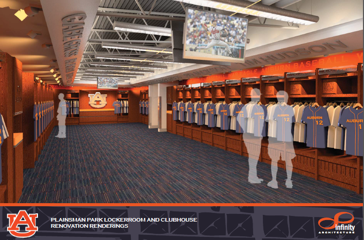 Final Designs Of Auburn Baseballs New Clubhouse