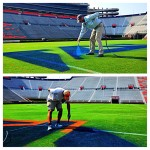 The Blue and Orange Have Been Added to Pat Dye Field at Jordan-Hare Stadium