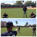 """""""Omaha"""" on Auburn Baseball Practice Jerseys"""