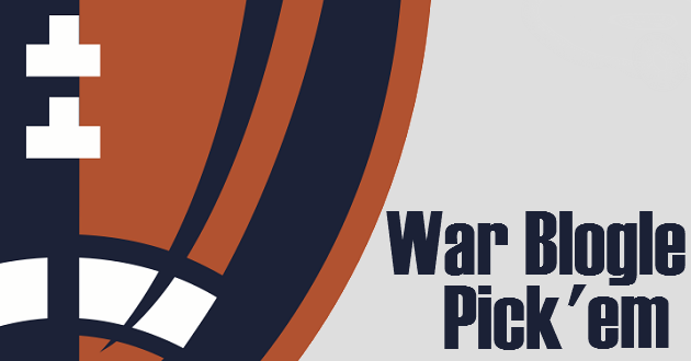 Join the 2018 War Blogle Pick 'em
