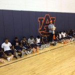 Auburn Basketball Dufners with Dufner