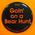 Ole Miss Gameday Button: Goin' On A Bear Hunt