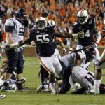 Carl Lawson Does the Carl-ton After Sacking Ole Miss