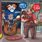 Awesome Cartoon Portrays New Arkansas Rivalry Perfectly