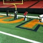 The Georgia Dome is Preparing for Auburn