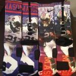 Tre Mason on Tre Mason's Socks