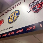 2013 SEC Championship Year Added in Auburn Athletic Department