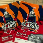 The 2014 Capital City Classic Ticket
