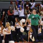 Guy Wins Car at Auburn Basketball Game