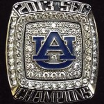 The 2013 SEC Championship Ring