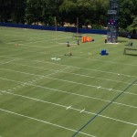Auburn Practice Fields Ready with '43' in Endzone to Honor Lutzenkirchen