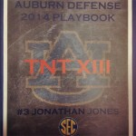 The Cover of the 2014 Playbooks Features Team Motto: TNT XIII