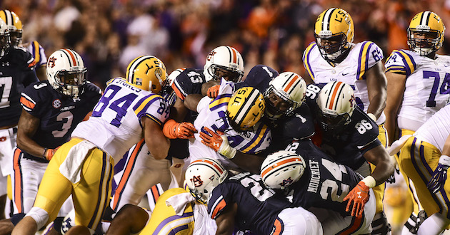 Highlights of Auburn's 41-7 Win Over LSU