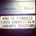That Starkville Coffee House Responds to Auburn Fans Taking Cowbells to Starkville