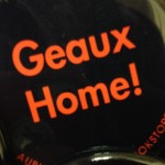 LSU Gameday Button: Geaux Home!