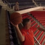Bruce Pearl & Legendary Shots in Auburn Arena