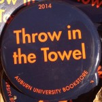 Texas A&M Gameday Button: Throw in the Towel