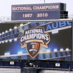 Jordan-Hare's South Endzone Scoreboard Has Officially Been Removed