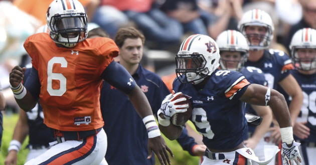Highlights of Auburn's 2015 A-Day Game