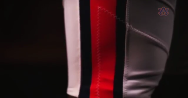 2015 Auburn Football Hype Video Features the Pant Stripes of Old