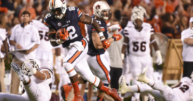 Highlights of Auburn's 17-9 Loss to Mississippi St.