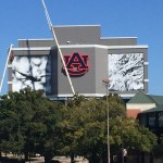 New Murals on Auburn's Video Board Are Up