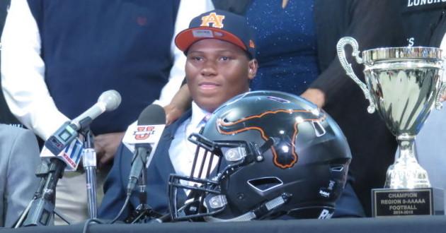 Auburn's 2016 Football Signing Class