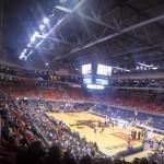 Vlogling Tigers and Cowboys Playing Basketball