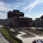 Kenny Chesney Stage Setup in Jordan-Hare