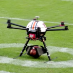 Drone Delivers Texas A&M Game Ball to Aubie
