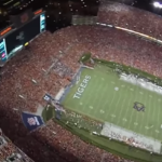 Watch the Silver Wings Parachute Team Land in Jordan-Hare Stadium