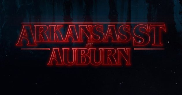 Stranger Things: Arkansas State at Auburn