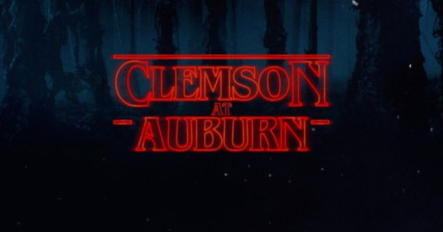 Stranger Things: Clemson at Auburn