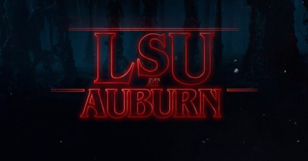 Stranger Things: LSU at Auburn