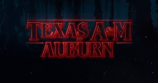Stranger Things: Texas A&M at Auburn