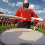Auburn Snare Drum Cam - LSU Pregame