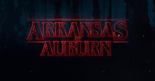 Stranger Things: Arkansas at Auburn