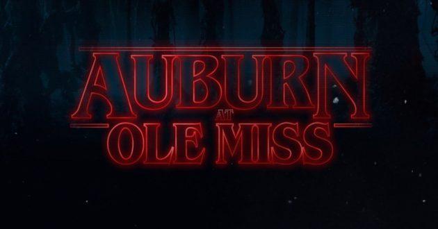 Stranger Things: Auburn at Ole Miss