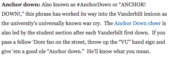 anchordown