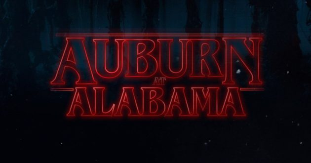Stranger Things: Auburn at Alabama