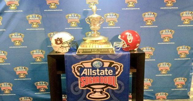 OFFICIAL: Auburn vs. Oklahoma in the Sugar Bowl